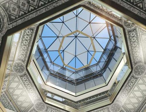 Glasdachkonstruktionen